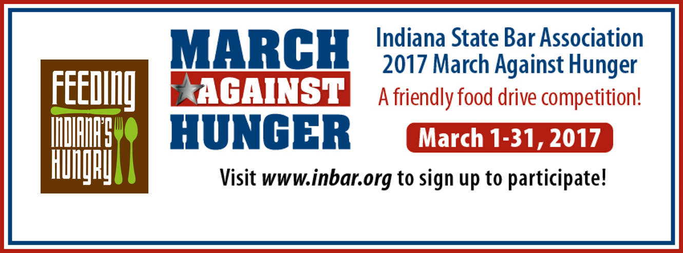 The Indiana State Bar Is Teaming Up With Office Of Attorney General And Feeding Indianas Hungry For Its Ninth Consecutive Year To Sponsor