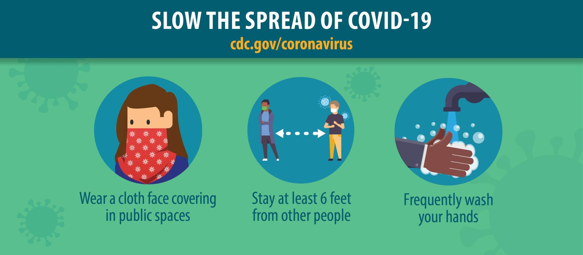 CDC guidelines to help prevent and reduce transmission and maintain healthy work environments