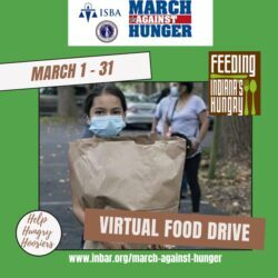 March Against Hunger 2021 – virtual food drive